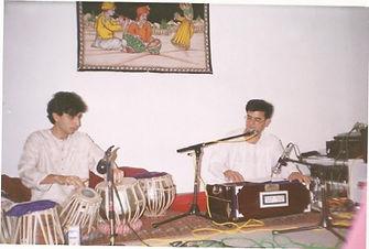 ghazal concert at an afghan gathering in