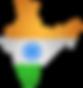 India_Map_Flag_PNG_Clip_Art_PNG_Image.pn