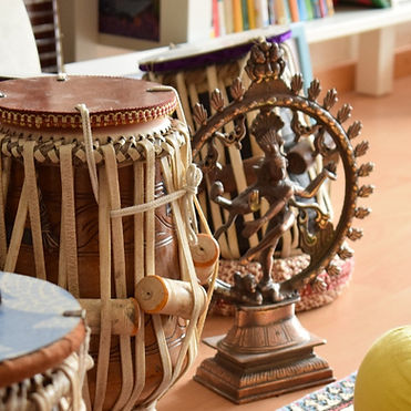 Learn Instruments from India online or present