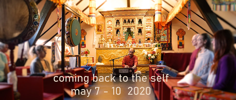 Manish Vyas meditation retreat at the Buddhist Center Bern Switzerland
