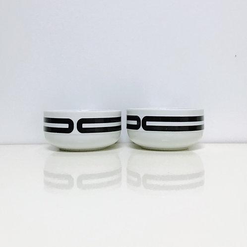 BOLS BLACK & WHITE (2x)