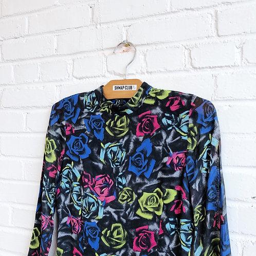 TOPSHOP ROSES PRINT DRESS