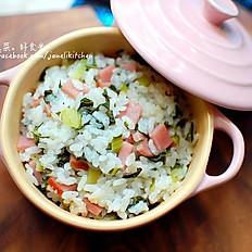 C3. Riso alla Shanghainese/Steamed Shanghai rice/上海菜饭