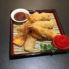 20. Tempura di gamberi/verdura/Mixed Shrimp/veg Tempura/日式天妇罗
