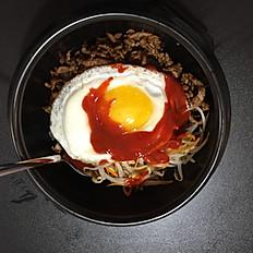 17. Riso in Hotpot Coreano/Bibimpab/韩国石锅饭