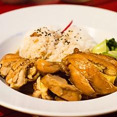 16. Riso con pollo Teriyaki/Chicken Teriyaki with Rice/日式照烧鸡肉饭
