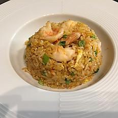 14. Riso saltato con gamberi/Pan-fried Rice with Shrimps/虾仁炒饭