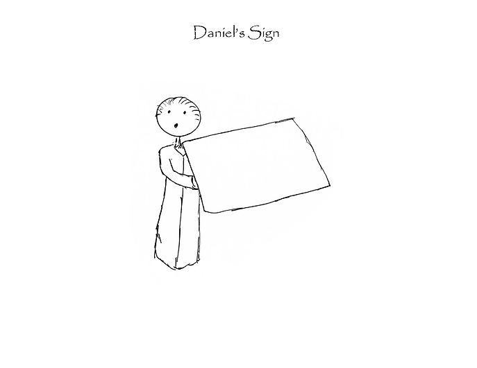 Daniel's Sign Page 1
