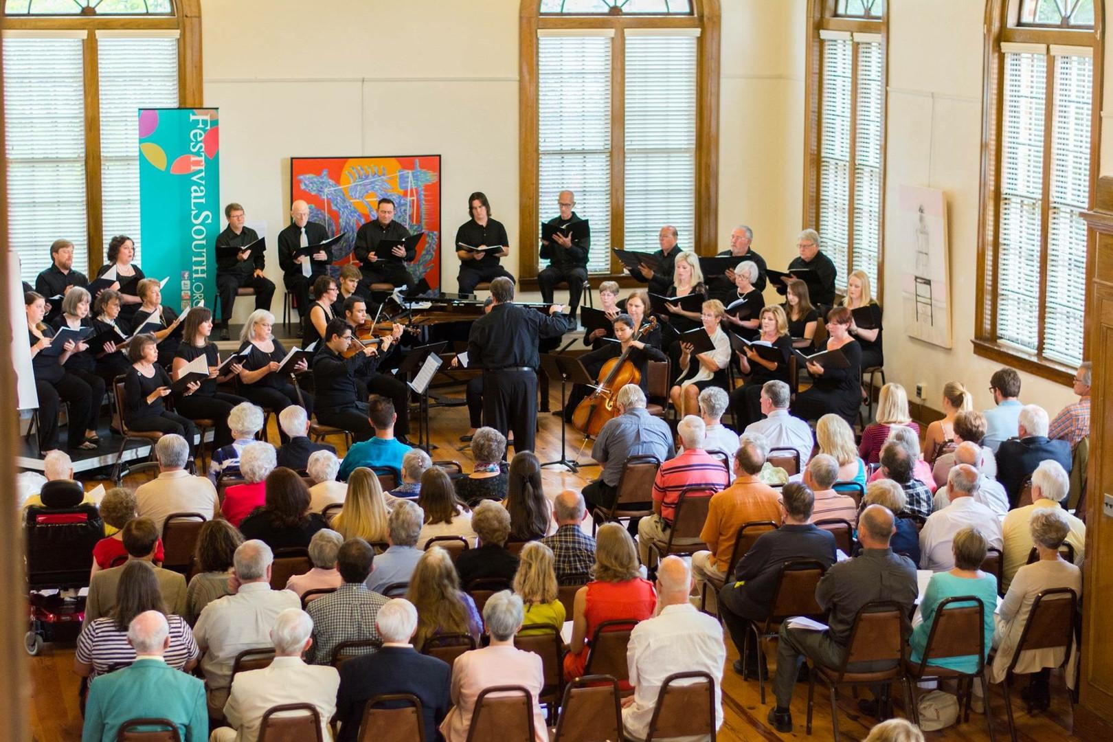 Meistersingers in performance
