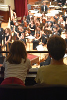 Youth watches FestivalSouth Orchestral Academy