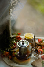 Honey & Tea by the Window by Svetlana Sokolov @sadakkko