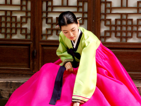 The Colorful History of Hanbok