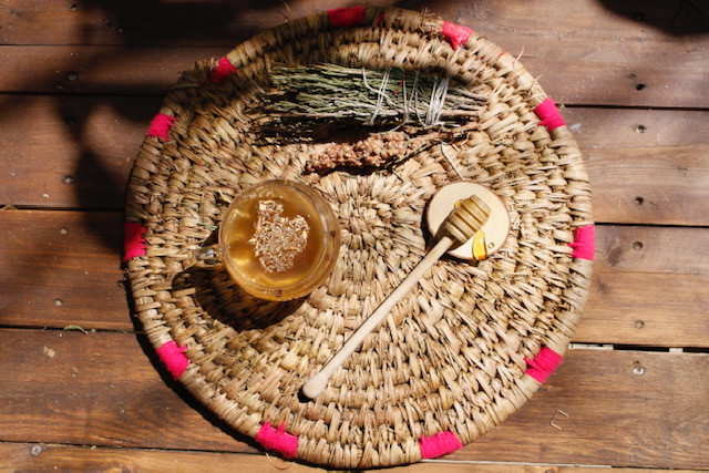 Honey and tea by Shahrzad Saleki @salekishahrzad