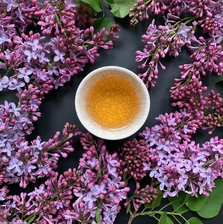 Lilacs and Oriental Beauty by Alex Ahearn @alexahearn1