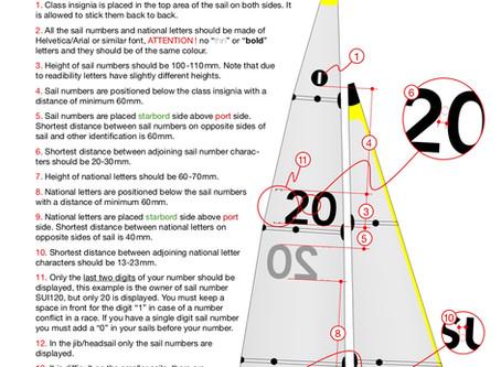 IOM Sail Numbers
