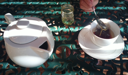 Tea and Honey Break in Mozambique by Carlos Nelli Borges @inhacasub