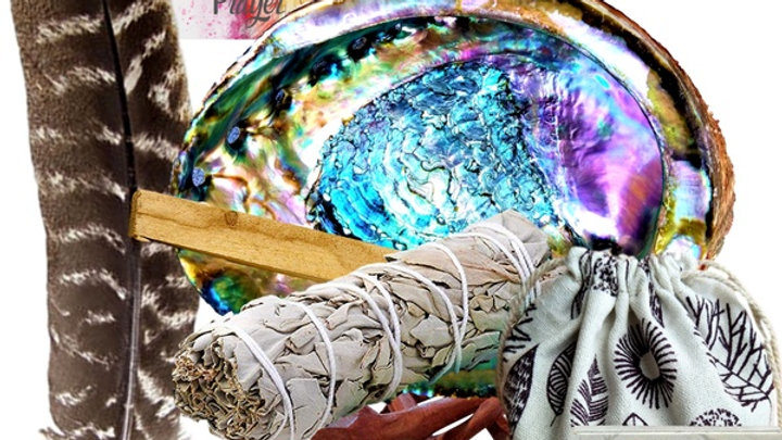 Smudge Kit Positive Energy & Cleansing 10 Gifts Set