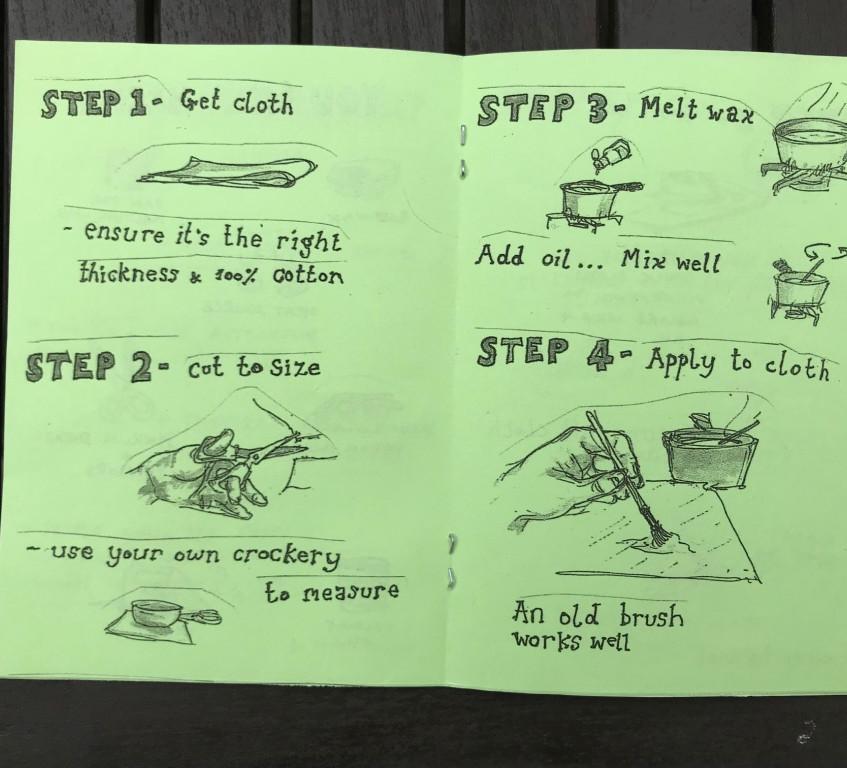 Steps 1-4