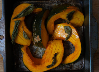CITRUS GLAZED SQUASH