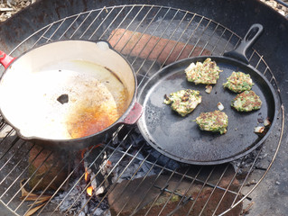 VEGGIE TALES #4: COURGETTE FRITTERS