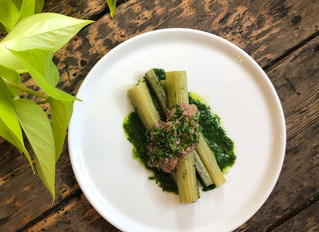 Cardoon | miso & walnut | parsley by Herbivore