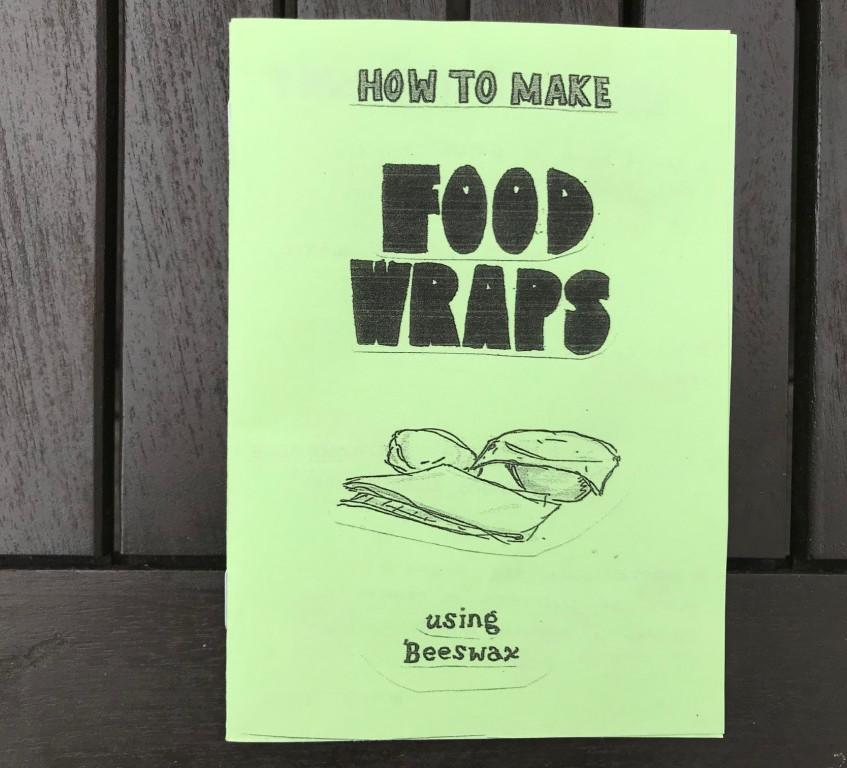 Food wrap zine