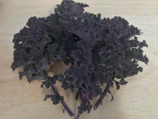 Caroline's kale crisps