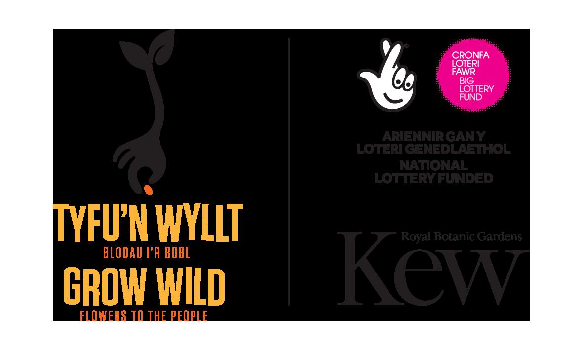 GrowWild_Kew_NLF_Logos_LockUp_Wales_Vert