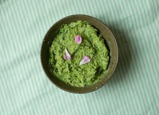 BROAD BEAN AND MINT HUMMUS