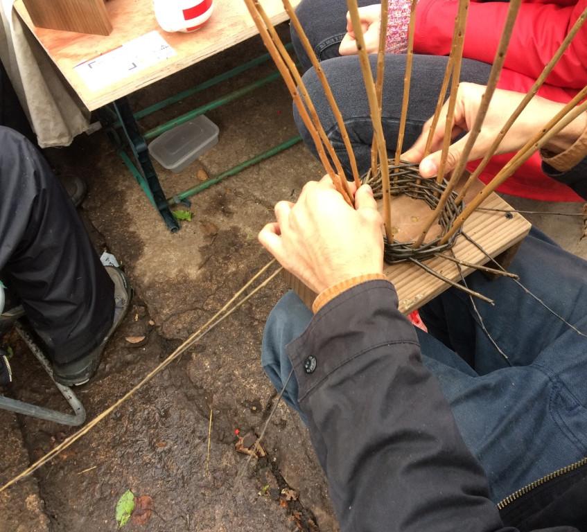 basket weaving technique