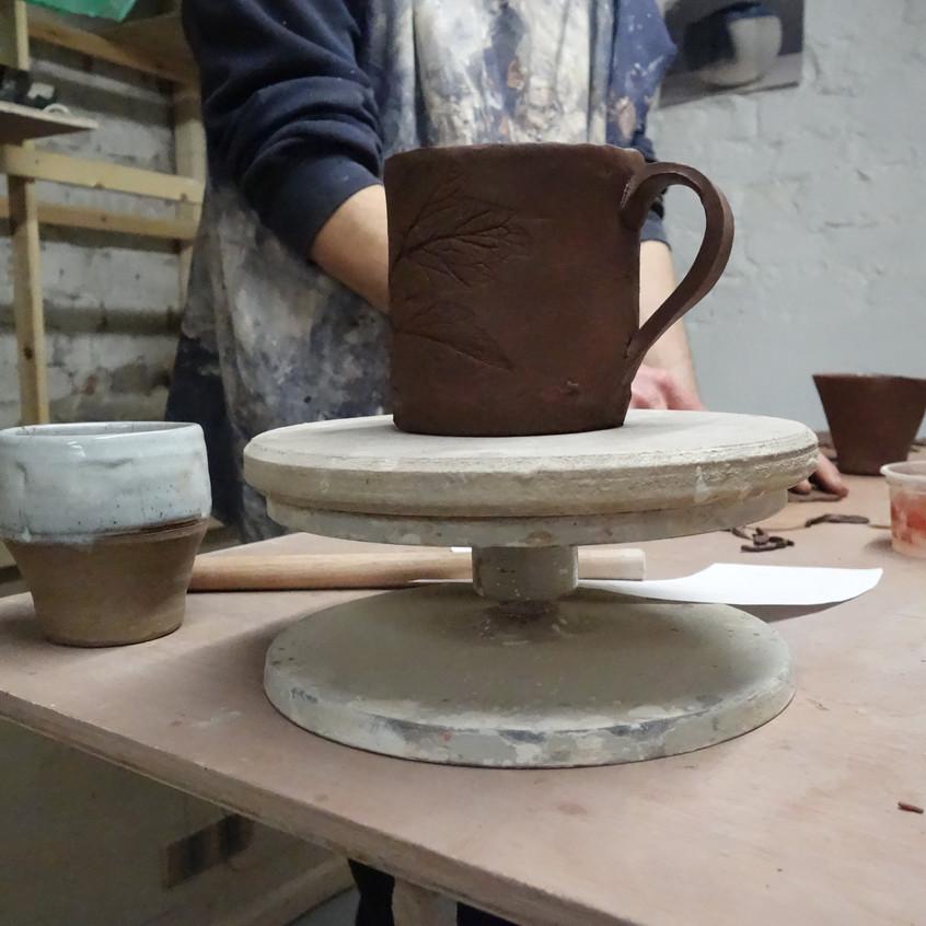 Slabbed mug