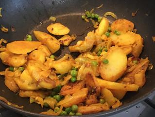 Dad's Potato Bhajis by Matt