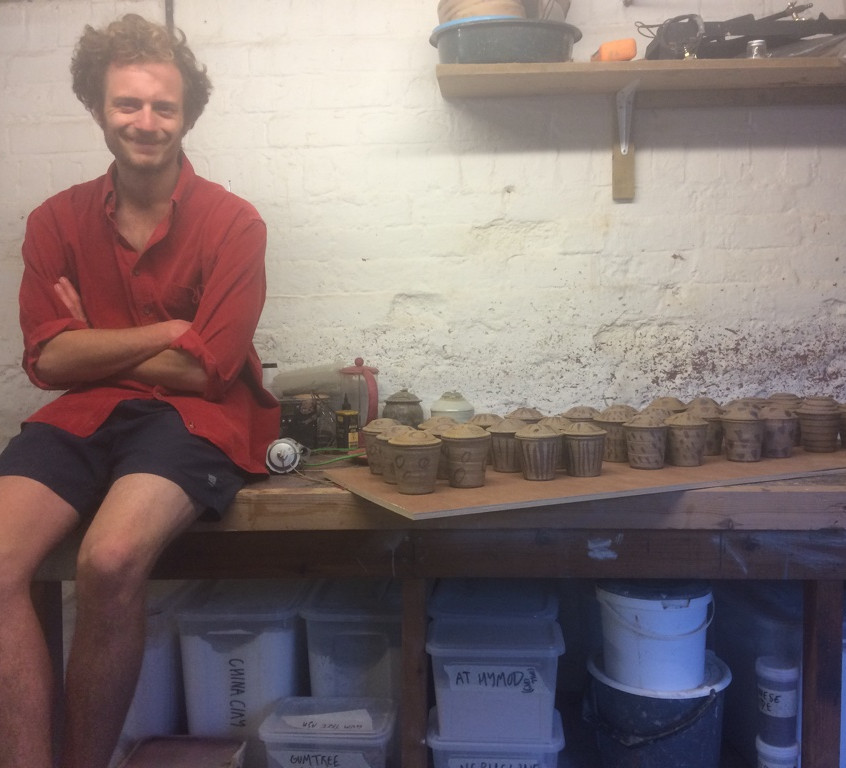 Jack with his jars