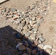 Rock Swale Work
