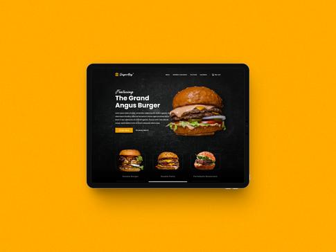 Burger Alley Web Ui Design