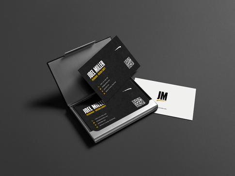 Joel Miller Business Card Design