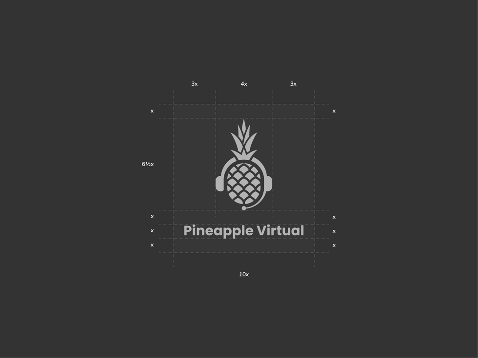 Pineapple Virtual Logo