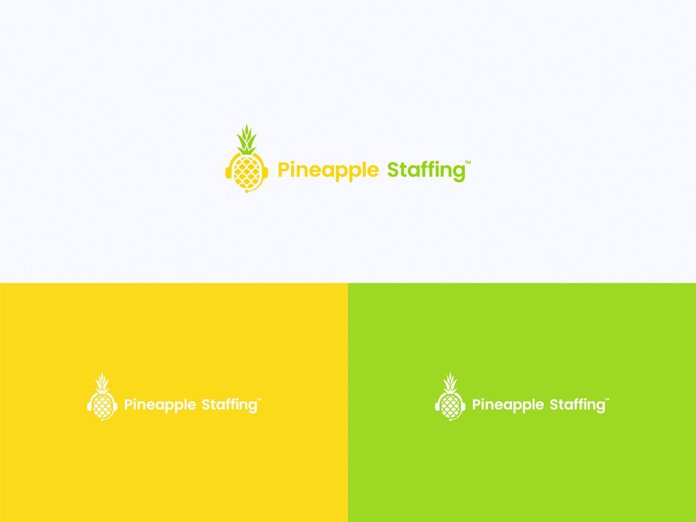 Pineapple Staffing Logo Design_Artboard