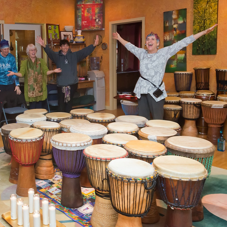 June 22  Tuesday AM 10:30 DRUM!