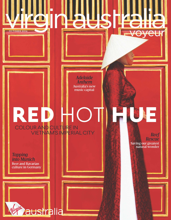 Virgin Australia Voyeur: Red Hot Hue