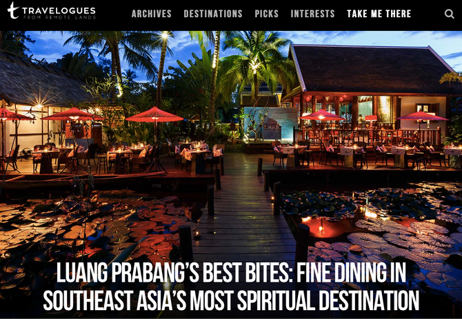 Remote Lands Travelogues: Luang Prabang's Best Bites
