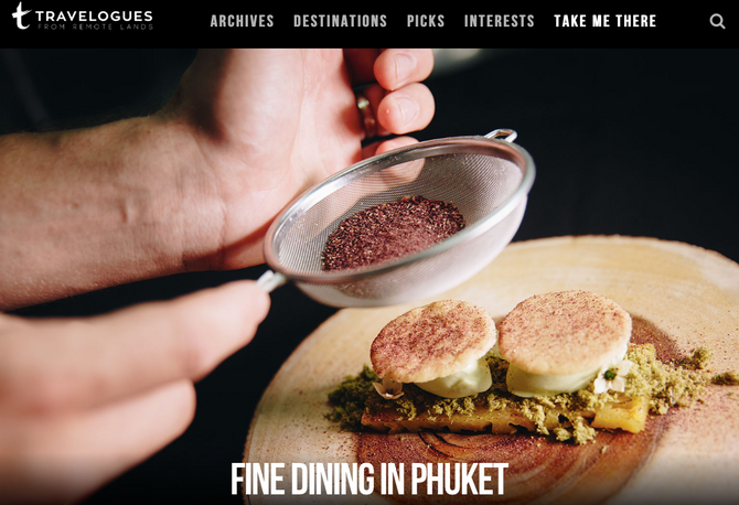 Remote Lands Travelogues: Fine Dining in Phuket