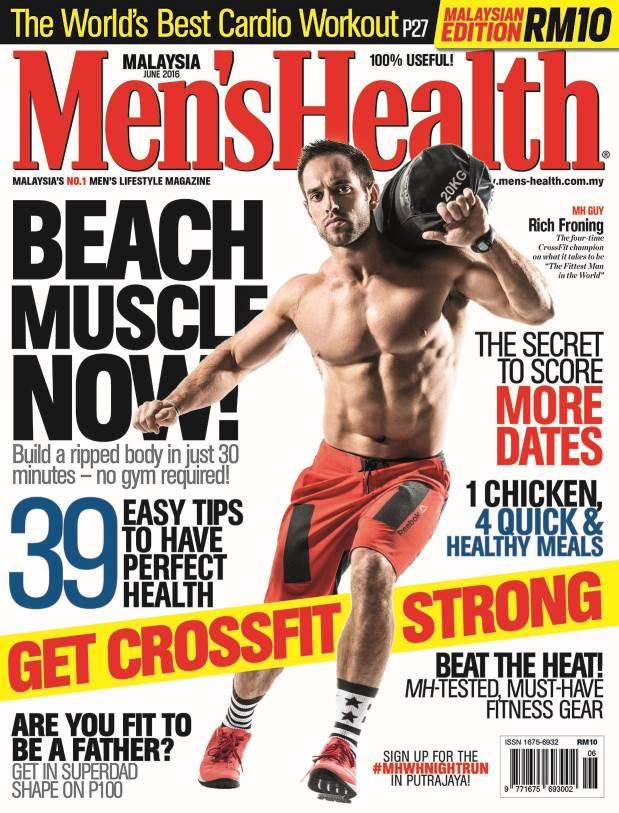 Men's Health Malaysia: Life's a Beach