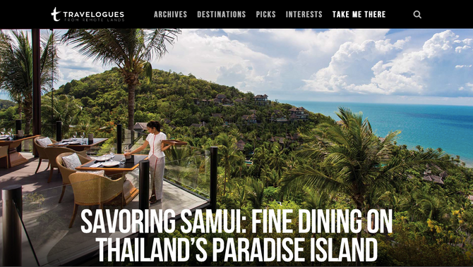 Remote Lands Travelogues: Savoring Samui
