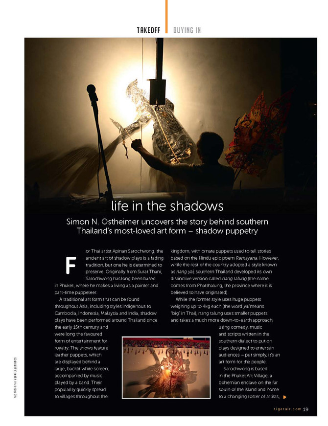 Tiger Airways Tiger Tales: Life in the Shadows