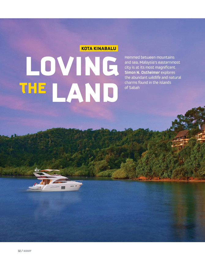 Simon N. Ostheimer explores the natural charms found in the islands of Sabah