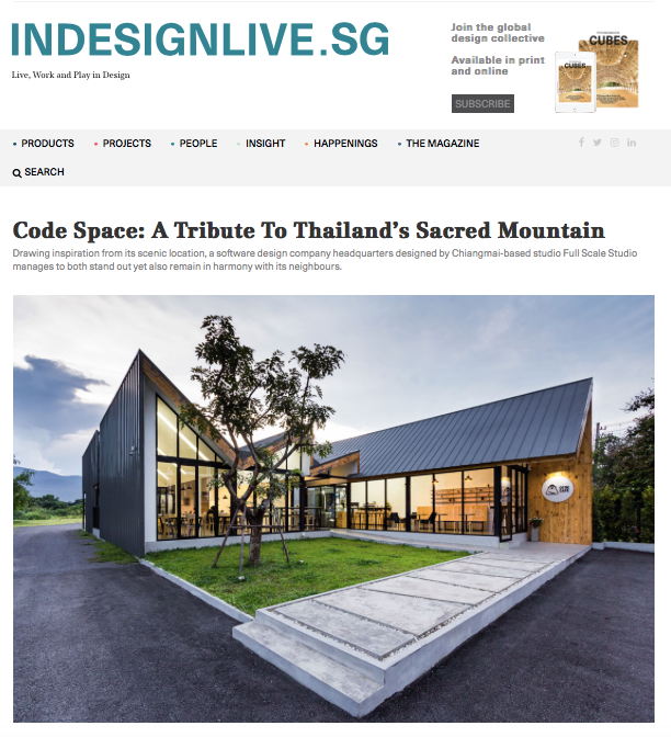 Indesignlive.sg: A Tribute To Thailand's Sacred Mountain
