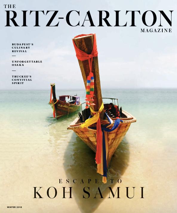 The Ritz-Carlton Magazine: Sanctuary by the Sea
