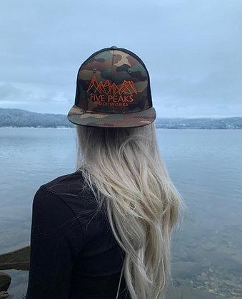 Five Peaks Camo Hat