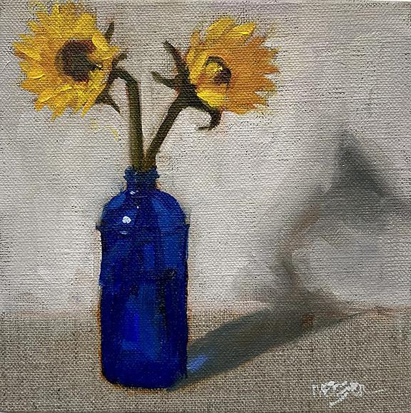 Dwarf Sunflower (Helianthus Annus Hybrid)